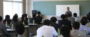 画像:高校教員向け講座