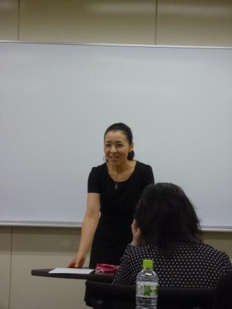 「人を惹きつける話し方講座」in名古屋にて講師をつとめました【2011年11月3日】
