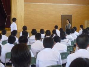 画像:八戸第一中学校様