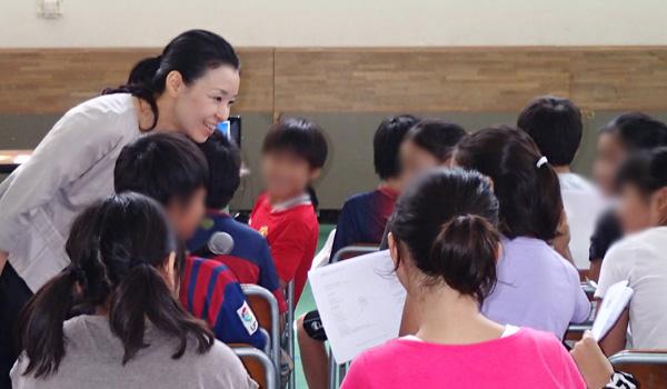 ドバイ日本人学校様にて講演いたしました<span class=