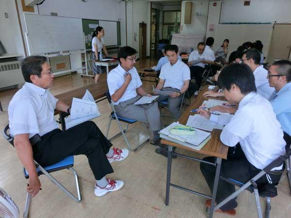青森県立黒石養護学校様にて教職員を対象に研修をさせていただきました