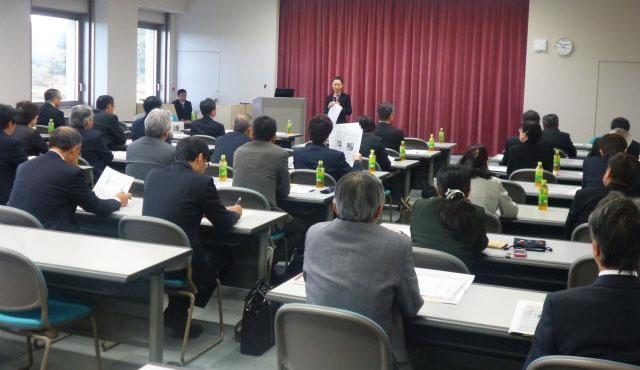 青森県高等学校長協会就職対策委員会・教育課題委員会合同講演会