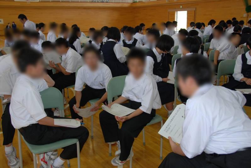青森県八戸市立第一中学校様、八戸市立第二中学校