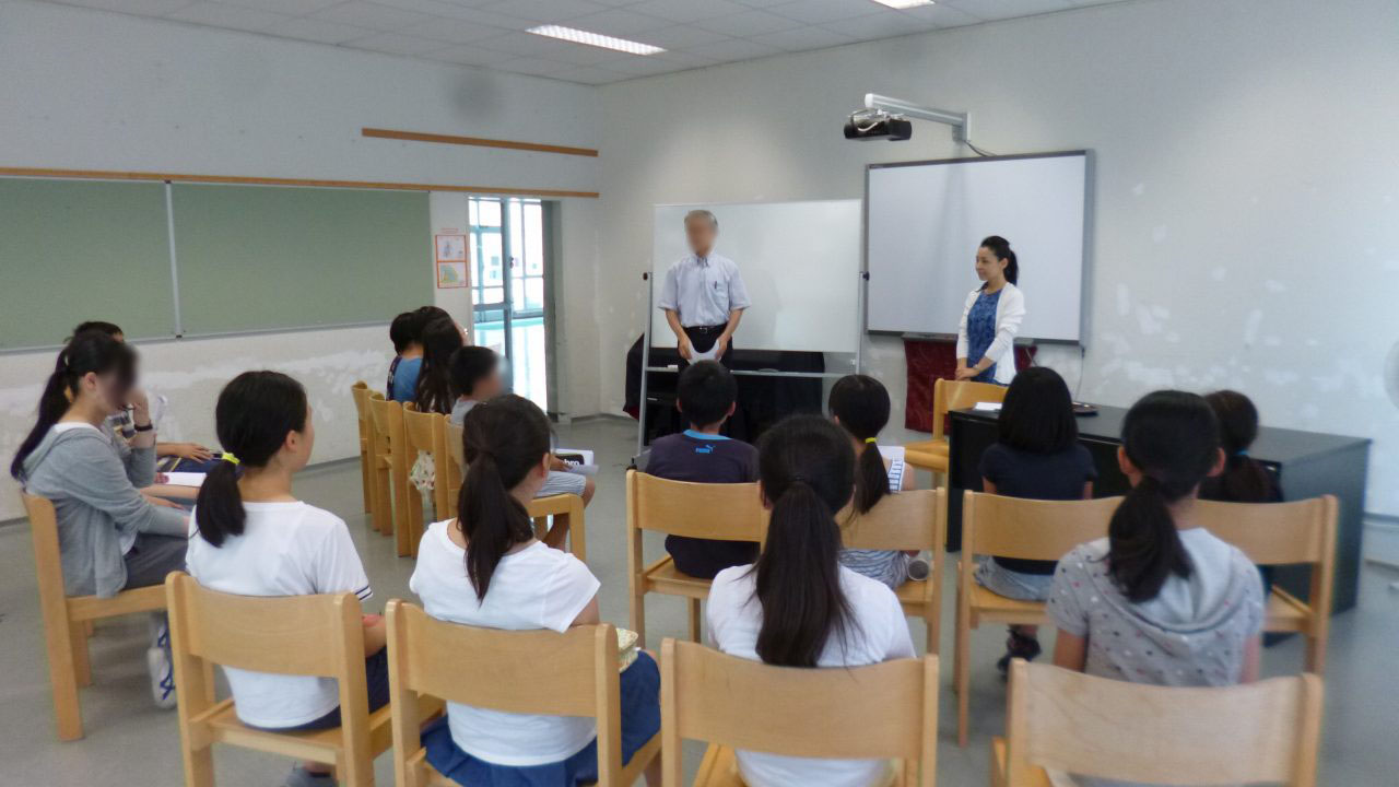 2015年7月7日ウィーン日本人学校様にて講演をさせていただきました
